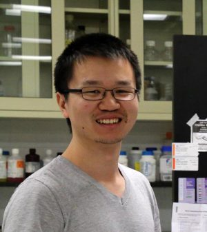 Zhonghe Ke, PhD 2018. Postdoc, University of Colorado, Denver