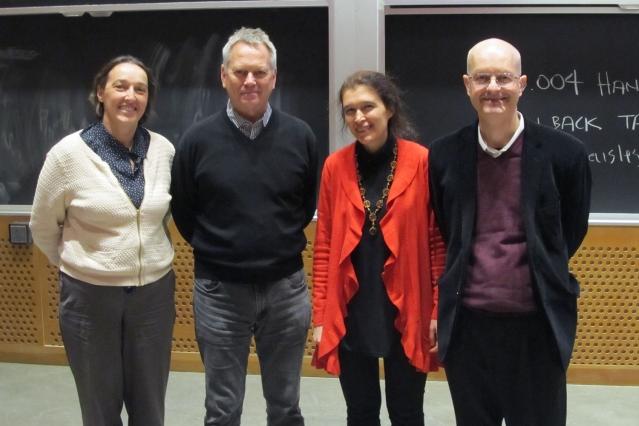 Vera Gorbunova delivers eighth Paul F. Glenn Lecture