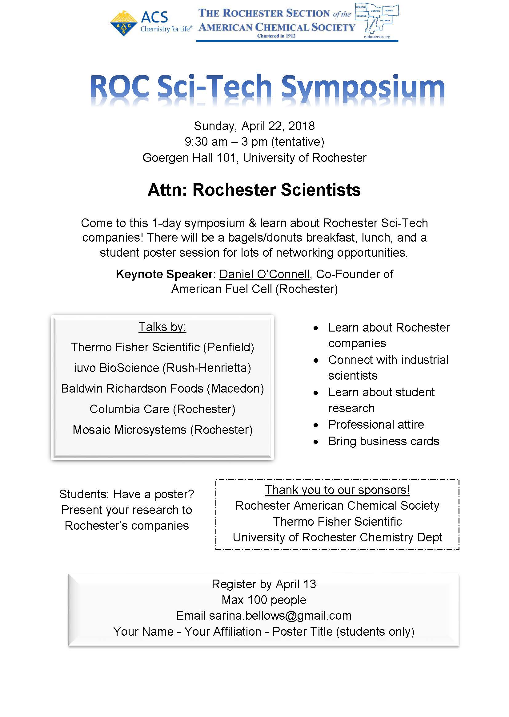 ROC Sci-Tech Symposium