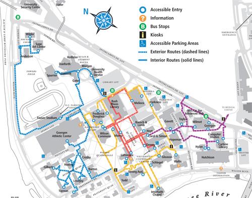 University Of Rochester Campus Map | compressportnederland
