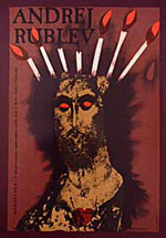 Andrei Rublev Ad Poster