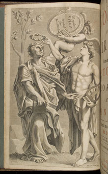 Frontispiece from The Works of Virgil