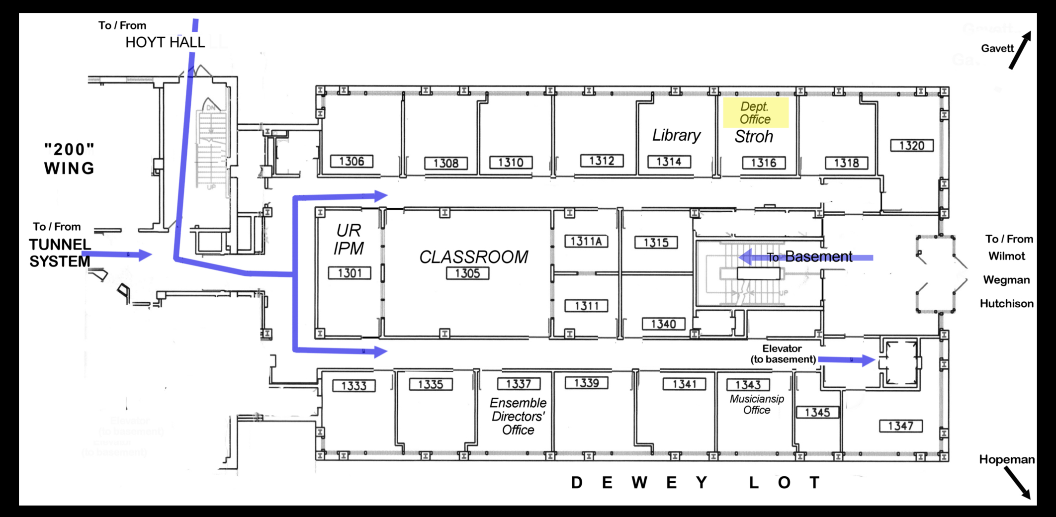 college athletic training room floor plan